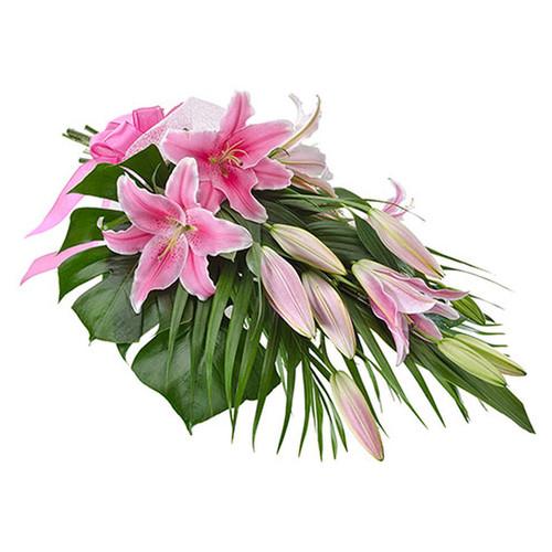 Elegant Sheaf of Oriental Lilies