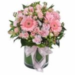 Mixed Pastel Posy (vase not included)