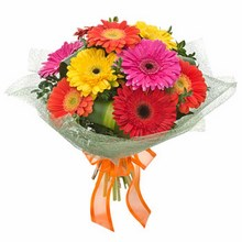 Bouquet of Mixed Gerberas